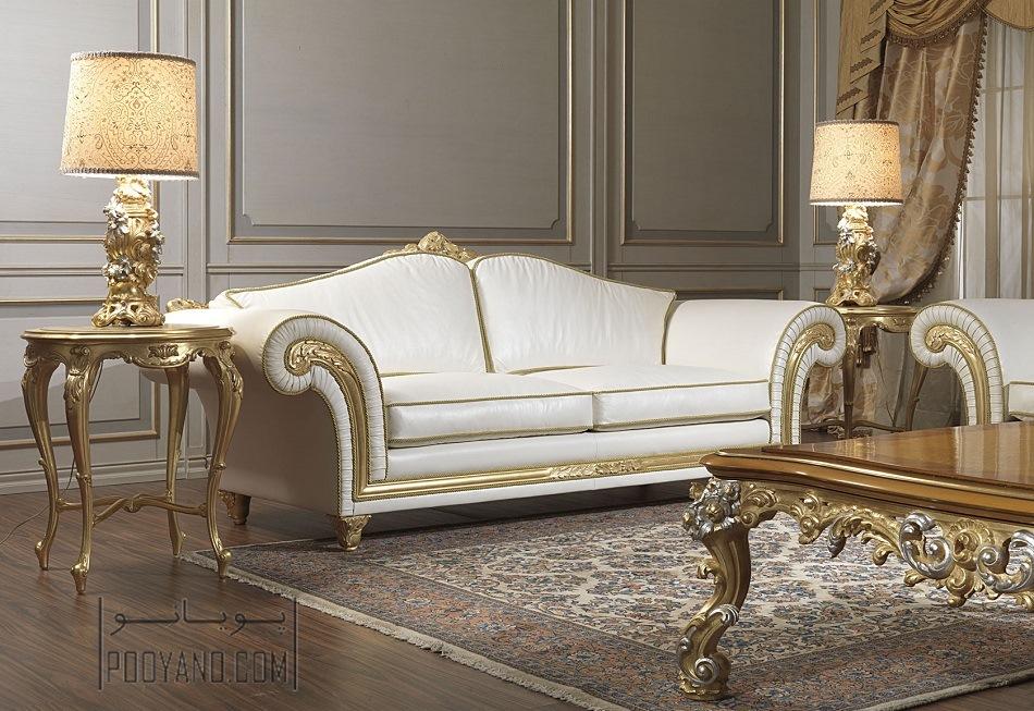 مبل طلایی در دکوراسیون منزل: چیدمان لوکس با ترکیب رنگ های بی نظیر