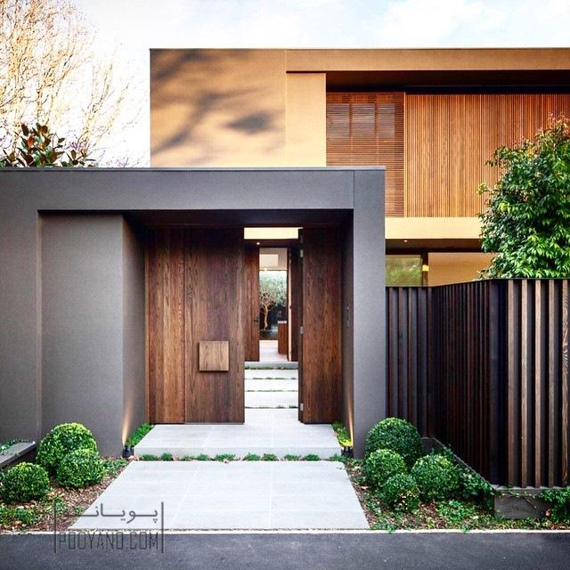 طراحی سردر ورودی منزل : بیش ترین تاثیر در اولین نگاه!