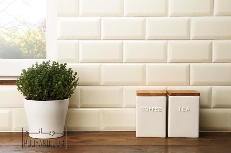 کاشی دیوار و کف آشپزخانه : راهنمای انتخاب و اجرا