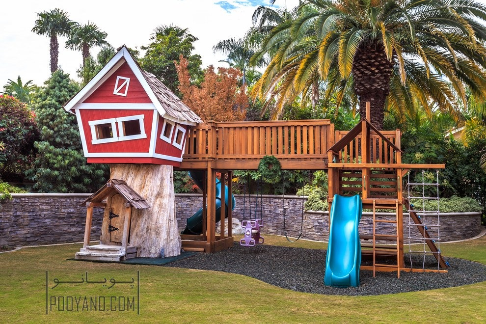 وسایل بازی در محوطه حیاط : ماجراجویی های کودکانه با ایده های جذاب
