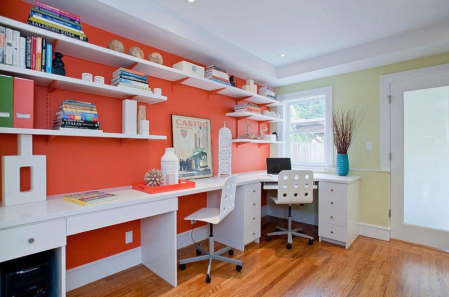 رنگ های شاد در منزل : ۱۱ روش برای ایجاد جلوه خیره کننده با رنگهای شاد در اتاق تان