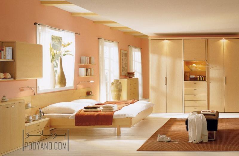 رنگ هلویی : ۸ نکته در مورد اتاق خواب به رنگ هلویی