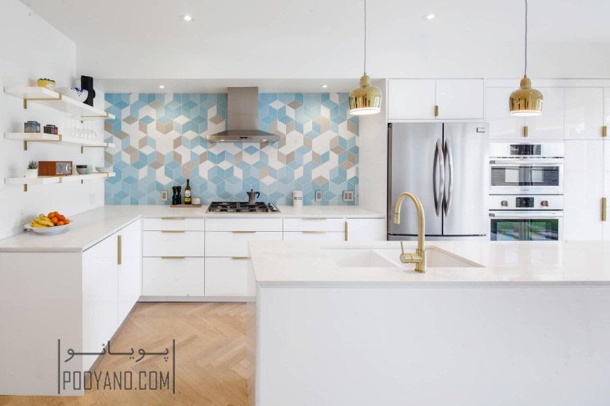آشپزخانه های سفید و زیباتر کردن آنها با ۱۳ روش