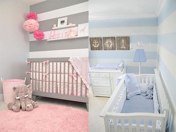 دکوراسیون اتاق نوزاد با ۶ ایده ی کاربردی