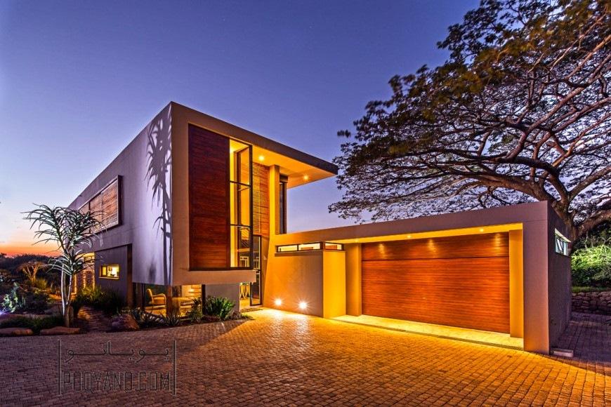 نورپردازی نمای ساختمان با تکنیک های معمارانه مختلف