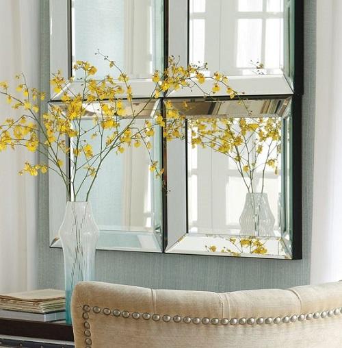 آینه دکوری در دکوراسیون منزل: روشن زندگی کنید!