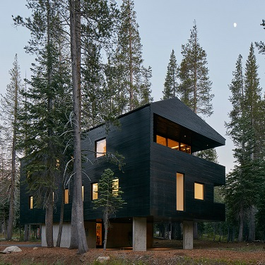 رنگ مشکی نما در ۱۰ پروژه معماری که سیمایی جدید ساخته اند