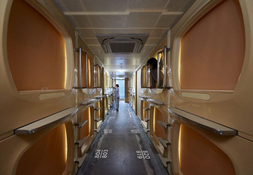 بازسازی هتل کپسولی در توکیو / شرکت معماری Schemata