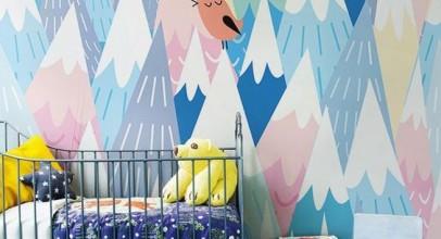 کاغذ دیواری اتاق نوزاد و کودک