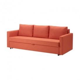 کاناپه تخت خوابشو نارنجی ایکیا FRIHETEN IKEA