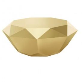 میز جلومبلی هندسی مدرن طلایی