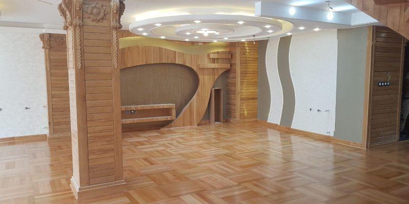 اجرا و کاربرد چوب در طراحی داخلی / شرکت معماری سالار صدیق زاده