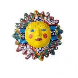 صورتک تزئینی سرامیکی رنگارنگ