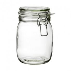 بانکه شیشه ای متوسط ایکیا مدل KORKEN