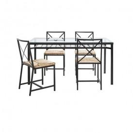 میز و صندلی ناهارخوری ۴ نفره ایکیا مدل IKEA GRANAS