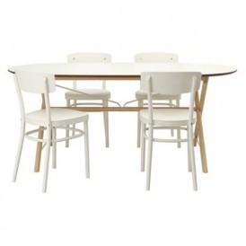 میز و صندلی ناهار خوری ۴ نفره مدل IKEA IDOLF