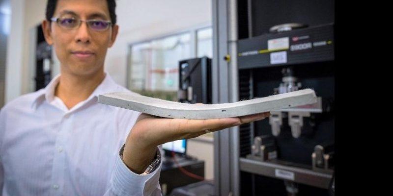 فن آوری بتن انعطاف پذیر توسط محقیق دانشگاه NTU سنگاپور