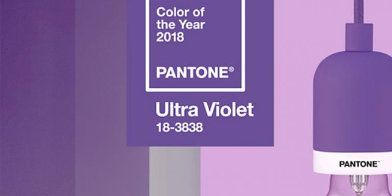 رنگ بنفش فوق العاده ۲۰۱۸ ، ۵ راه همراه شدن آن در طراحی دکوراسیون داخلی !