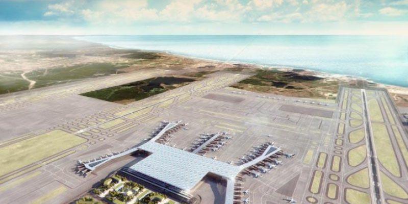 گریمشاو تصاویر جدیدی از بزرگترین فرودگاه جهان در استانبول منتشر کرد