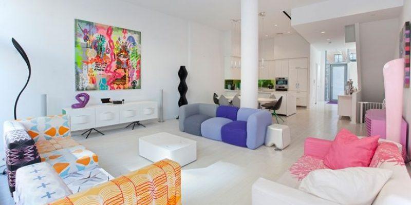 خانه کریم رشید : خانه ای سرشار از رنگ
