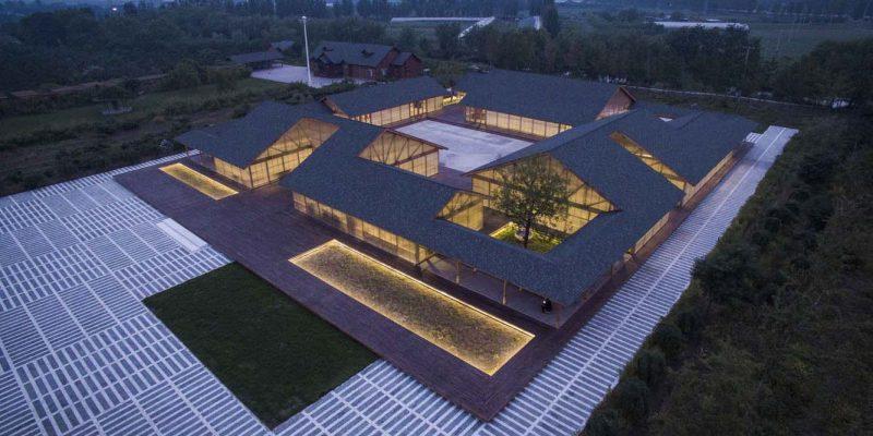 طراحی کارگاه تولید موادغذایی ارگانیک Tangshan / استودیو معماری آرک ARCHSTUDIO