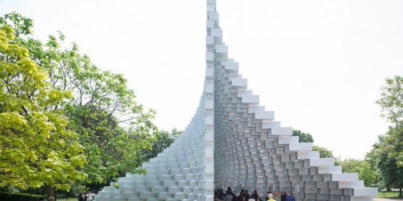 پاویون ۲۰۱۶  Serpentine گروه معماری بیگ در کنار ۴ کوشک بازگشایی می گردد