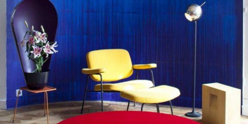 طراحی داخلی رنگارنگ به سبک آرت دکو