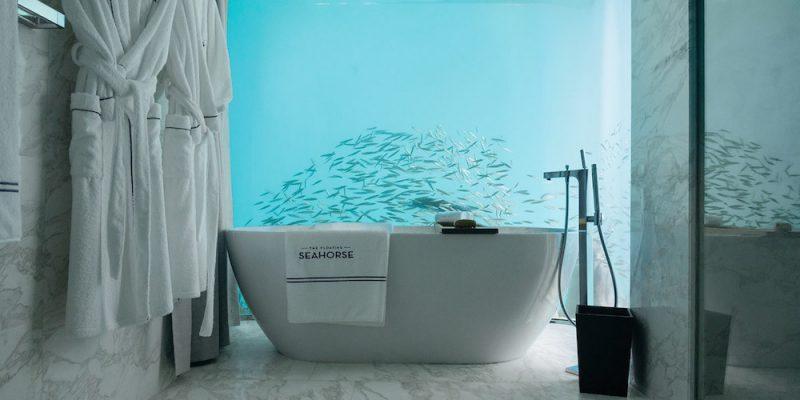 طراحی ویلا هایی رویایی در زیر دریا
