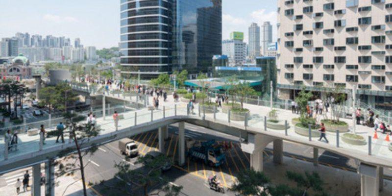 طراحی معماری پارک اسکای گاردن در سئول / MVRDV