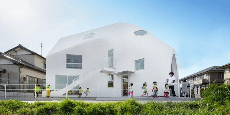 معماری و تغییر کاربری یک خانه به مهد کودک در ژاپن
