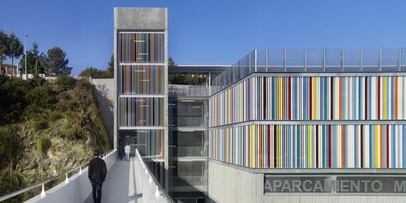 طراحی پارکینگ بیمارستان و مرکز انکولوژیک در اسپانیا