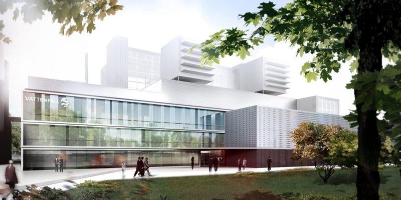 مسابقه طراحی معماری نیروگاه گاز و بخار در آلمان ، استودیو معماری Henn