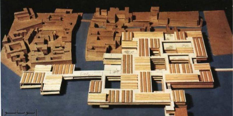 طرح پیشنهادی برای معماری بیمارستان در ونیز توسط لوکوربوزیه