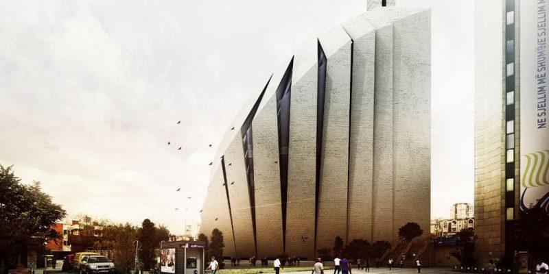 طرح مسجد مرکزی پریشتینا توسط مهندسین مشاور طرح و آمایش