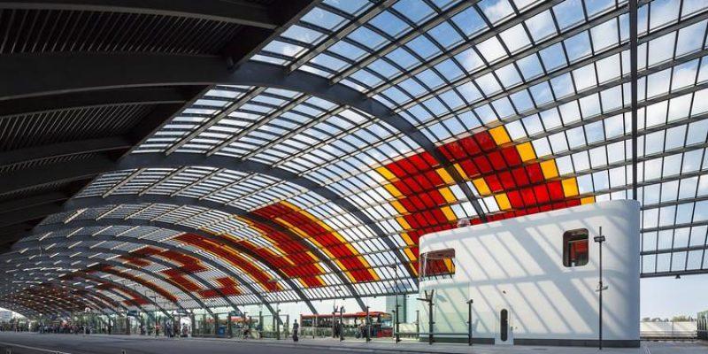 معماری : ساختمانی برای رانندگان اتوبوس / Benthem Crouwel Architects