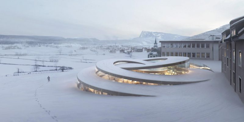 طراحی معماران BIG برای برند سوئیسی ساعت