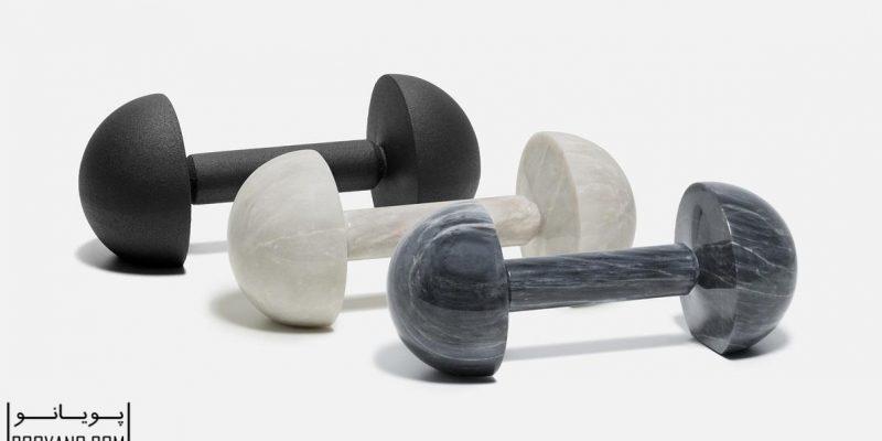 طراحی وسایل ورزشی به شکل آثار هنری / دیزاینر Tingest