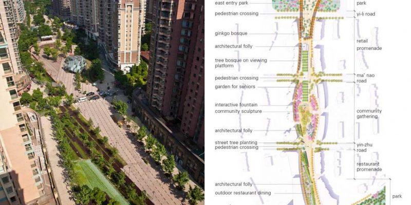 گردشگاه عابر پیاده گابی / گروه معماری منظر SWA