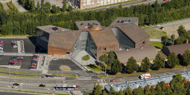 معماری ساختمان مرکز بهداشتی درمانی Tipotie در فنلاند