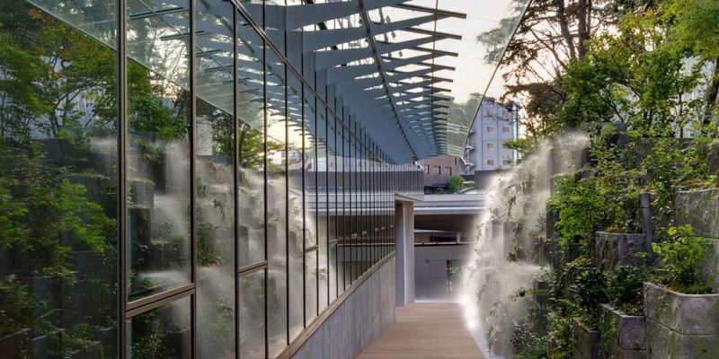 طراحی باغ سفارت فرانسه در توکیو / Sempervirens Landscapers