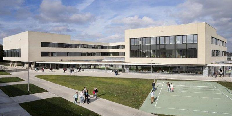 نوسازی و معماری مدرسه سبز و پایدار در Campus Peer / شرکت معماری Bekkering Adams