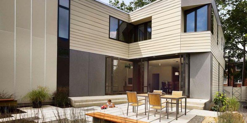 معماری و اجرای یک ساختمان پیش ساخته در مدت ۱ روز
