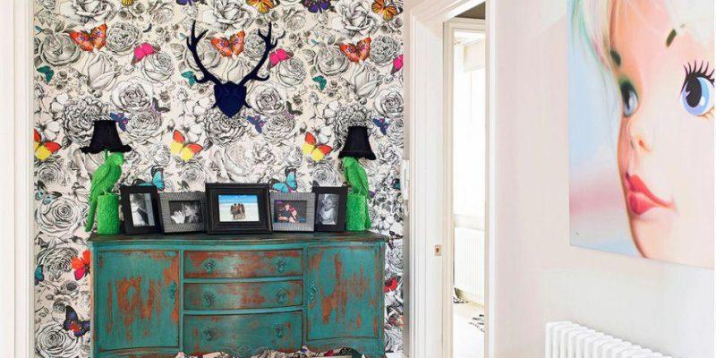 خلاقیت با کاغذدیواری و راهکارهای هوشمندانه در منزل