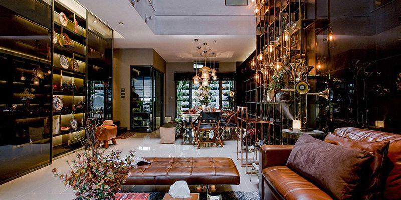 طراحی خانه با سبک شرقی و غربی Feature House واقع در بانکوک