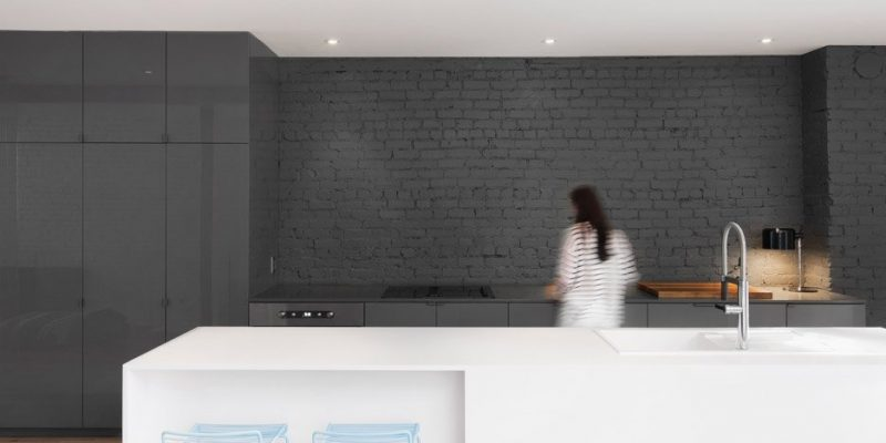 طراحی داخلی آشپزخانههای مینیمالیستی و بکر