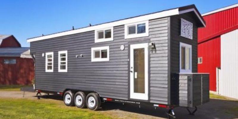 طراحی خانه سیار مینیاتوری با ظرفیت هشت نفر