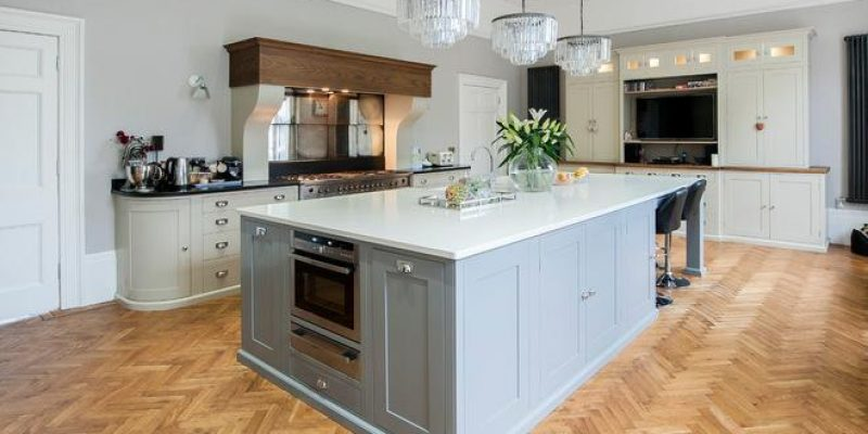 جزیره آشپزخانه , ۱۰ نمونه زیبای کابینت آشپزخانه آبی رنگ