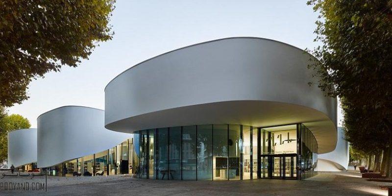 طراحی کتابخانه دیجیتال در تیونویل فرانسه / شرکت معماری Dominique Coulon و همکاران