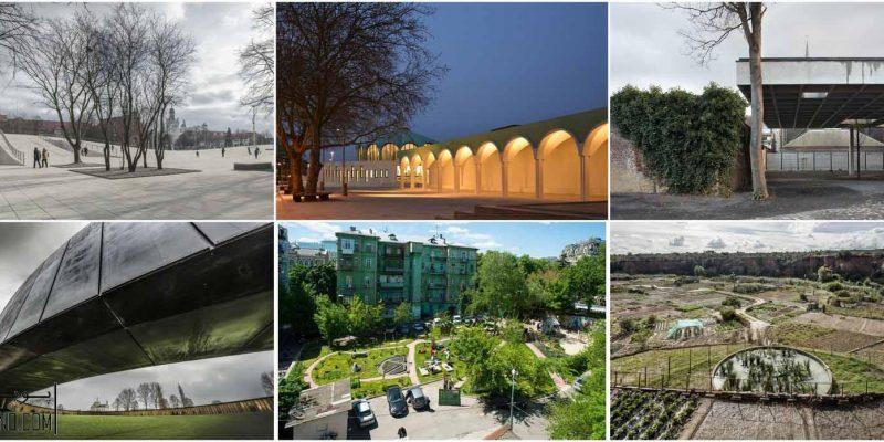 برندگان جایزه اروپایی، معماری فضاهای عمومی شهری ۲۰۱۶ اعلام شد