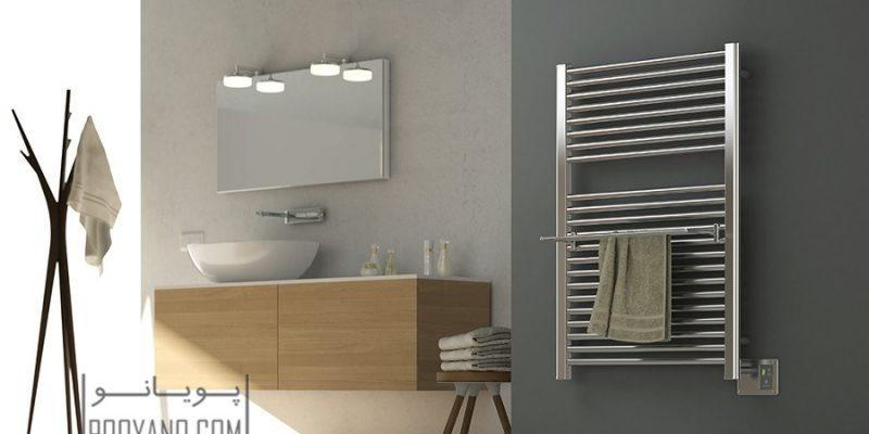 حوله خشک کن حمام : بهترین مدل های روز را بشناسید